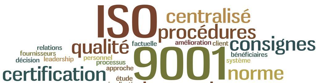 Formation évolution de la norme Iso 9001 V 2015  - Pôle formation entreprise de la CCI du Tarn