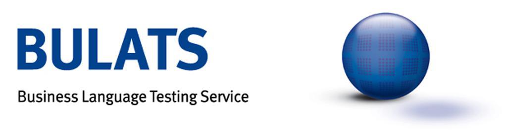 BULATS - Business Language Testing Service permet d'évaluer les compétences de compréhension écrite et orale en langue anglaise.