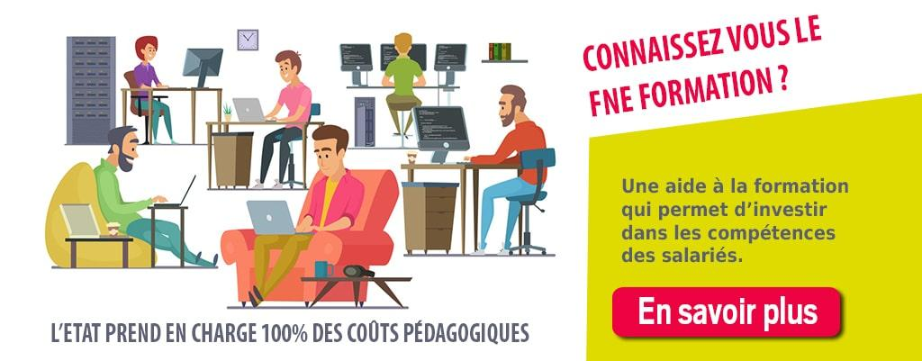 Découvrez la convention FNE-formation, un dispositif pris à 100% en charge par l'Etat